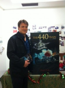 Guess who's reading The 440 Train?